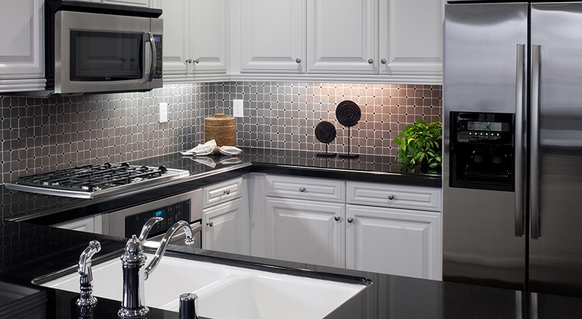 Welcoming Intimate Showhouse Kitchen: San Sebastian Is A Pet-friendly Apartment Community In